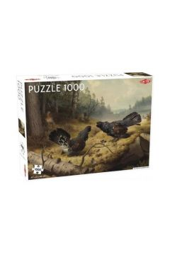 Puzzle 1000 Fighting Capercailles